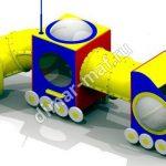 Грузовик с прицепом из категории Игровые формы