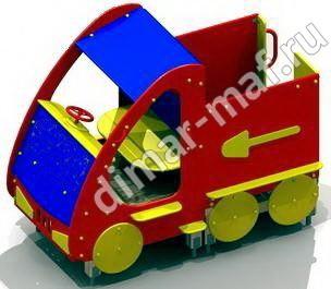 Машинка без горки. из категории Игровые формы