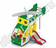 Вертолет с горкой из категории Игровые формы