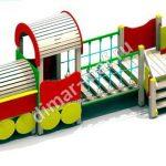 Локомотив с вагончиком из категории Игровые формы