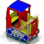 Трактор из категории Игровые формы