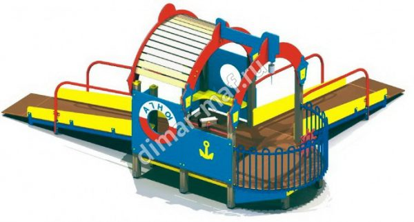 Кораблик для детей с ограниченными возможностями из категории Игровые формы