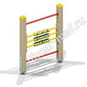 Крестики-нолики на столбах из категории Игровые формы