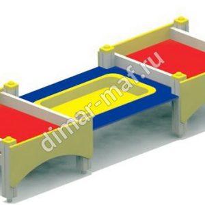 Песочница-столик  малый из категории Песочницы