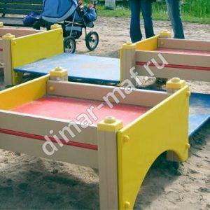 Песочница-столик  большой
