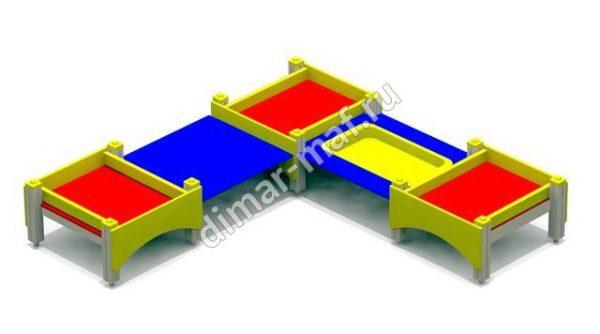 Песочница-столик  большой из категории Песочницы