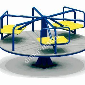 Карусель с 6-ю сидениями из категории Карусели