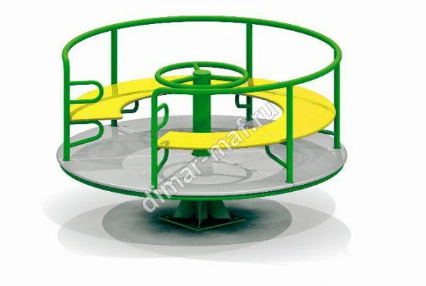 Карусель со сплошным сиденьем из категории Карусели