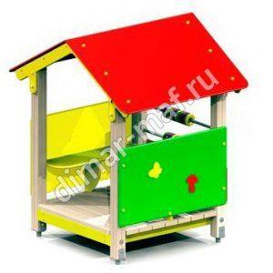 Игровой домик со счётами малый из категории Игровые домики