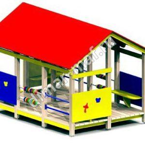 Игровой домик со счётами большой из категории Игровые домики