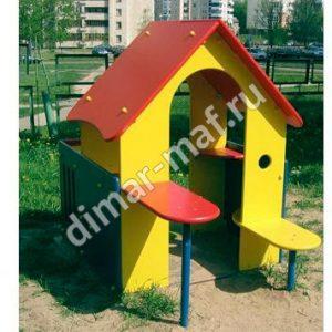 """Игровой домик с лавочками """"Мини"""""""