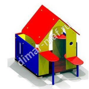 """Игровой домик с лавочками """"Мини"""" из категории Игровые домики"""