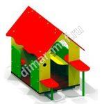 Игровой домик с лавочками из категории Игровые домики
