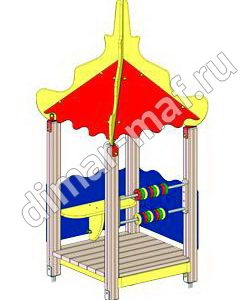 """Игровой домик  """"Сказка"""" из категории Игровые домики"""