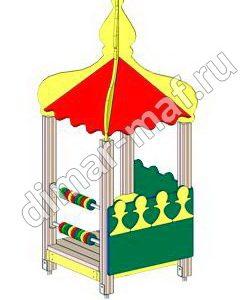 """Игровой домик  """"Весёлый Шахматист"""" из категории Игровые домики"""