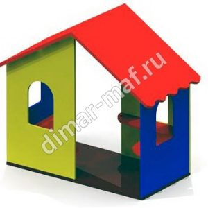 Игровой домик одинарный из категории Игровые домики