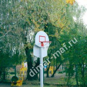 Стойка баскетбольная двойная