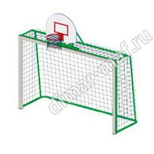 Гандбольные ворота с баскетбольным щитом из категории Спортивное оборудование